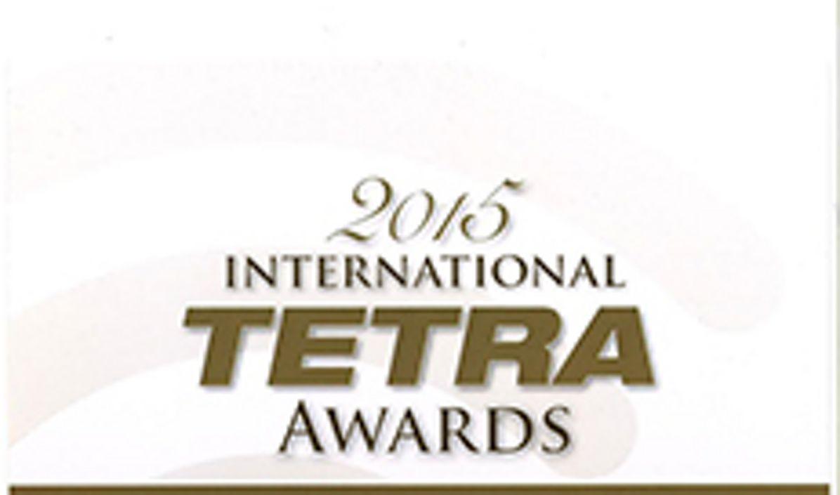 2015 Tetra Awards event