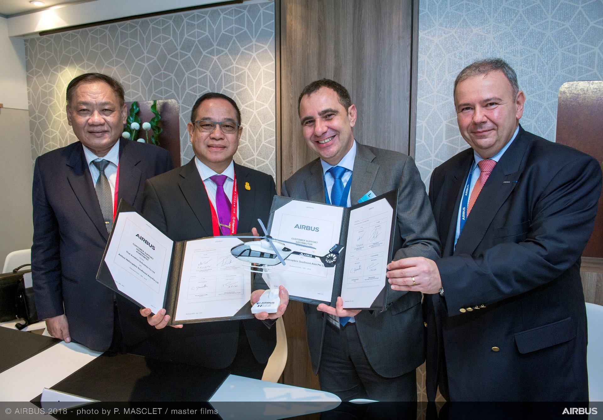 New partnership strengthens Airbus Helicopters' commitment to Thailand's  military and law enforcement helicopter operations.
