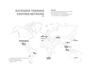 AHG Network Training Centres Map