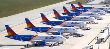 Allegiant Air's Airbus A320s