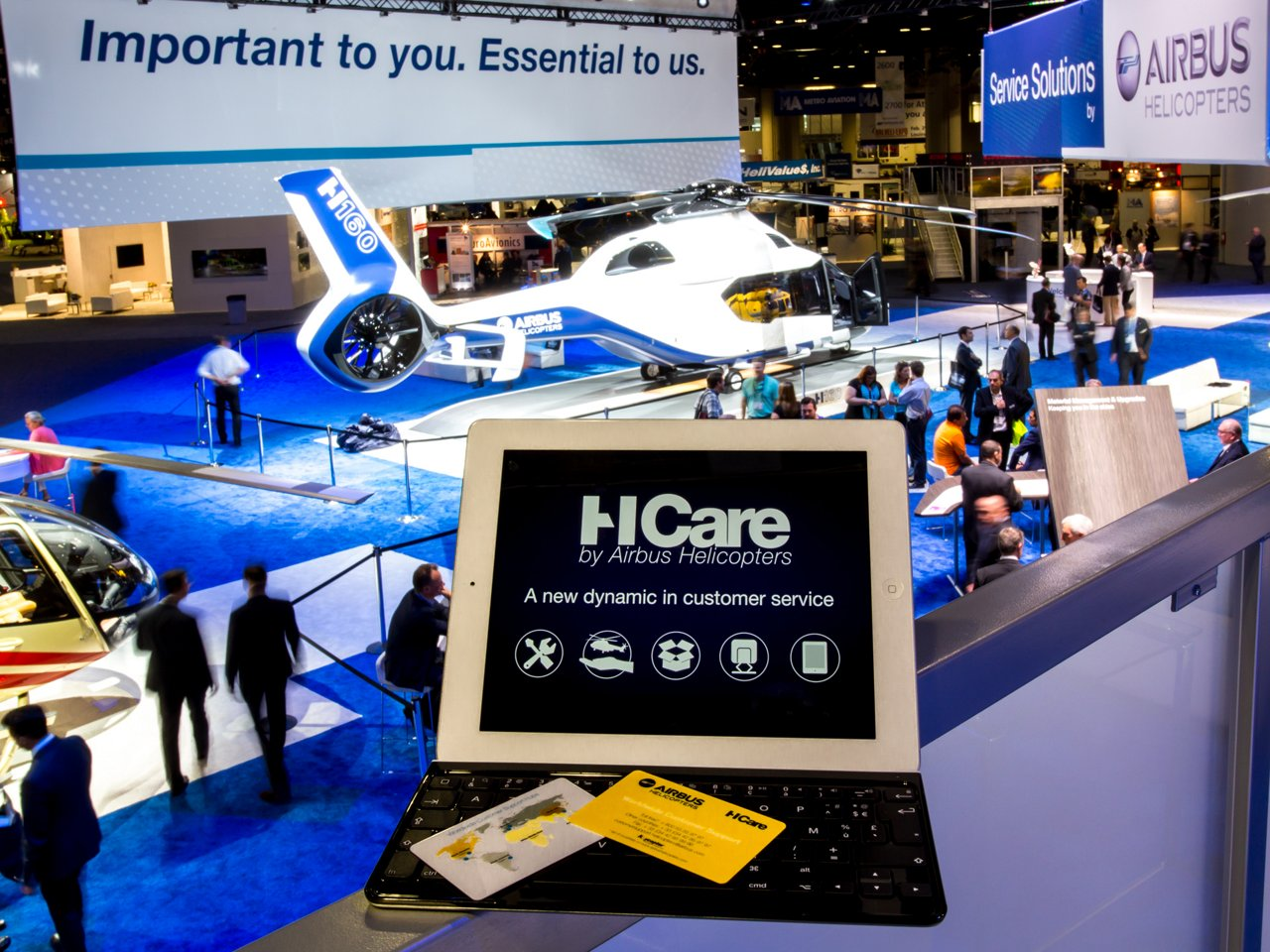 Airbus Helicopters' HCare brings a new dynamic in customer service, with comprehensive coverage, quality and performance