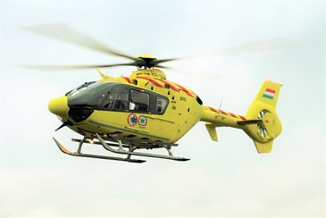 Hungarian Air Ambulance's H135