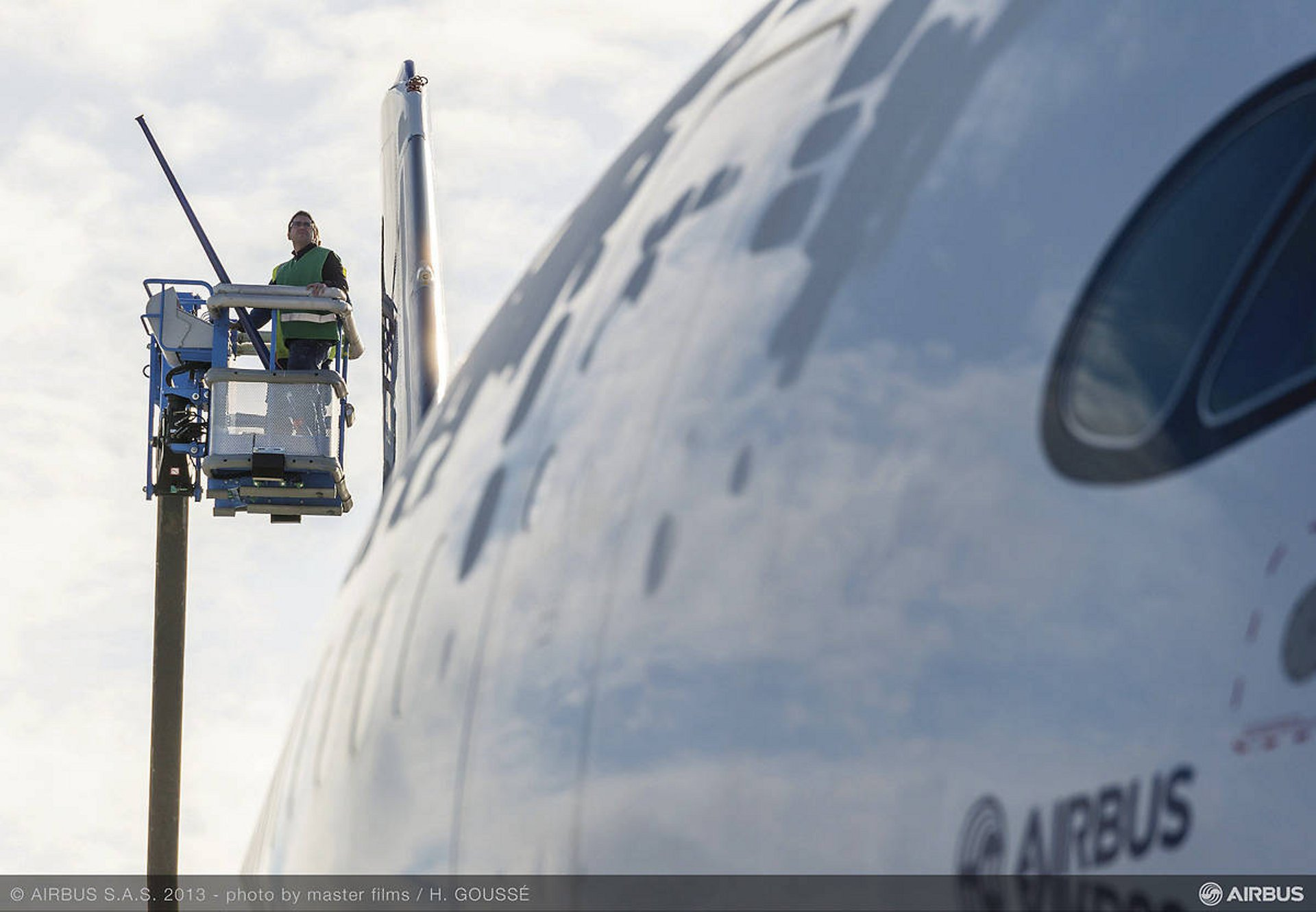 A350 Nose Closeup Services