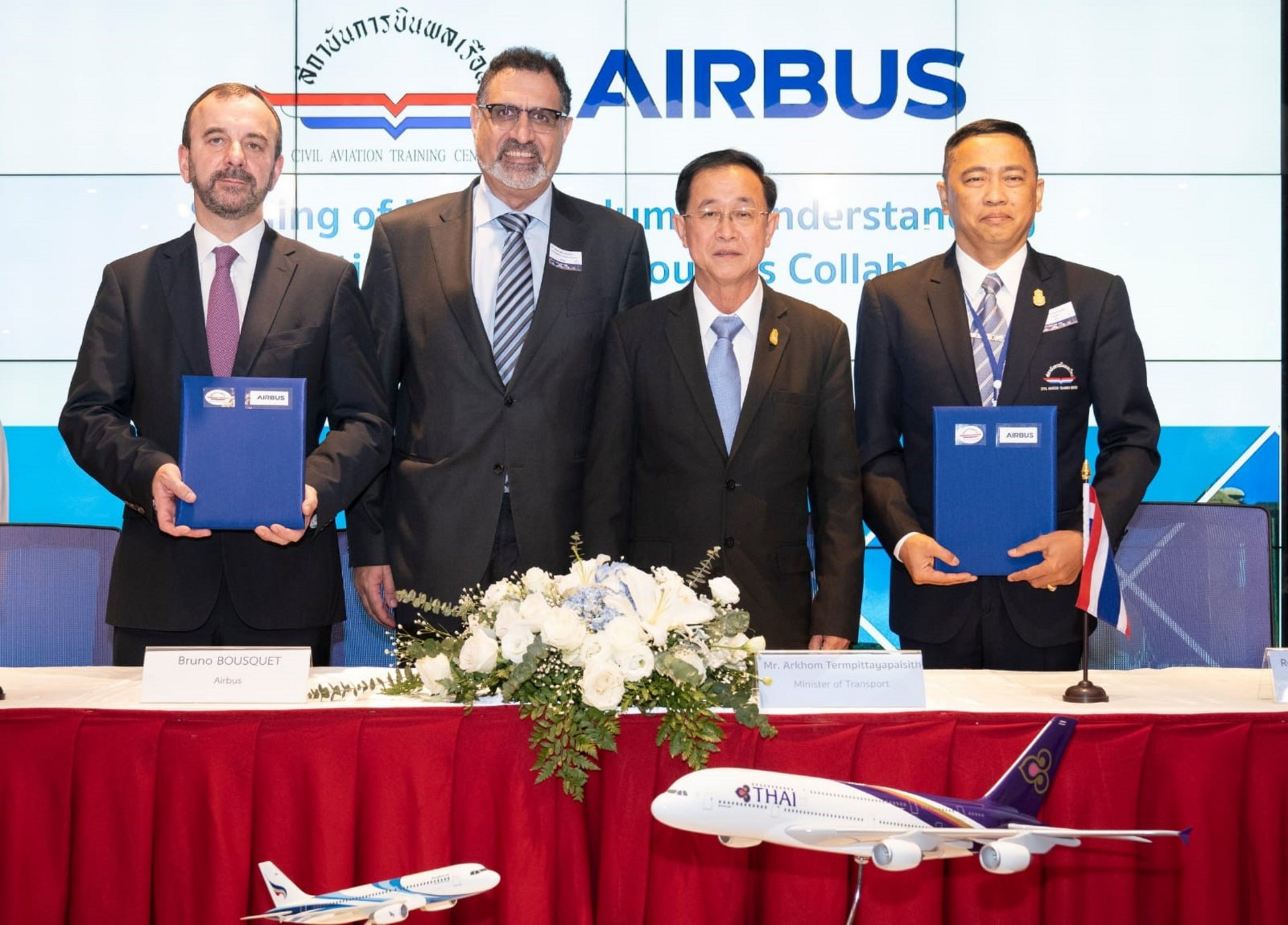 Airbus and Thailand's CATC to work on pilot, maintenance