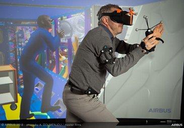 Virtual reality maintenance digital mock-up