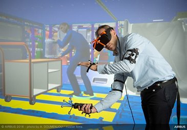 Virtual reality-based maintenance operations