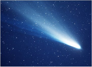 Comet Haley Copyright NASA