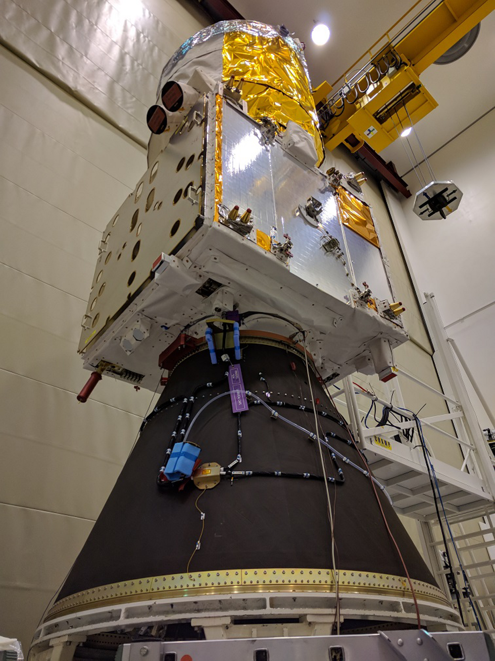 ESA's spacecraft Aeolus, built by Airbus is now ready for launch