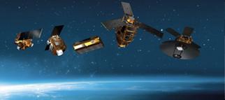 地球观察卫星组合