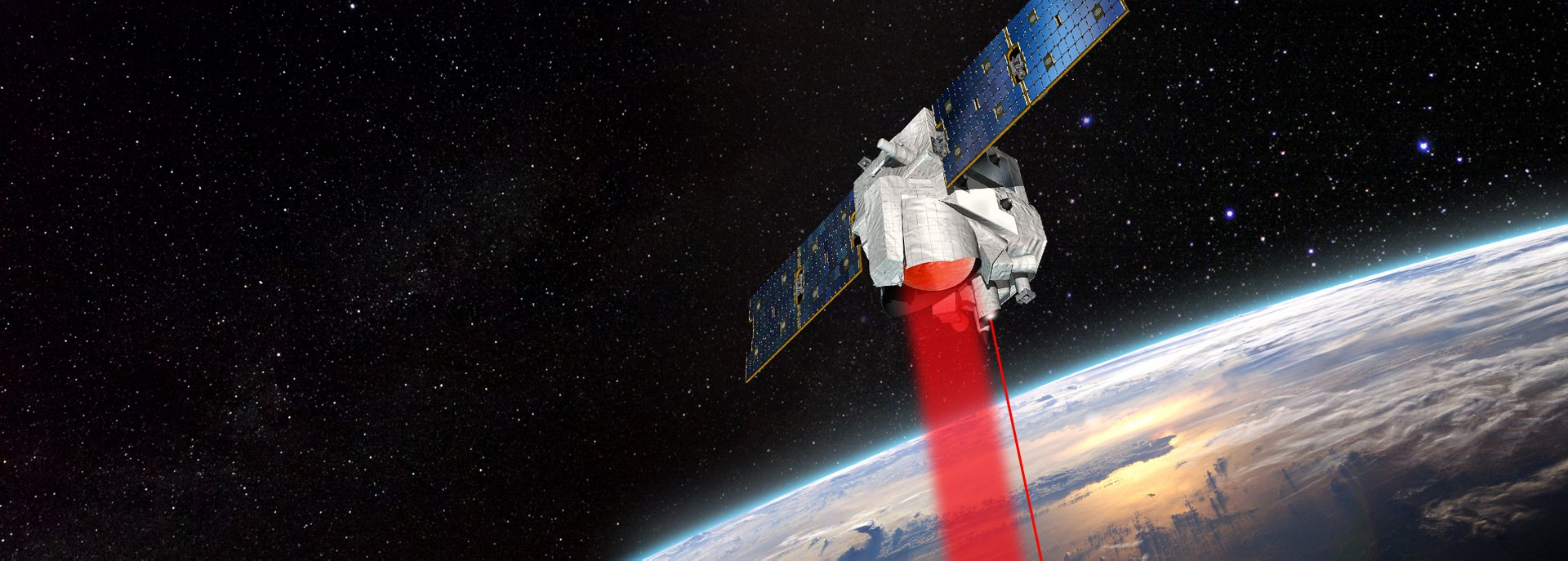 German-French Earth Observation MERLIN satellite