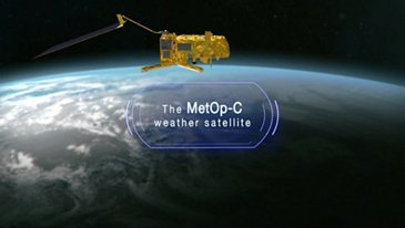The MetOp-C weather satellite