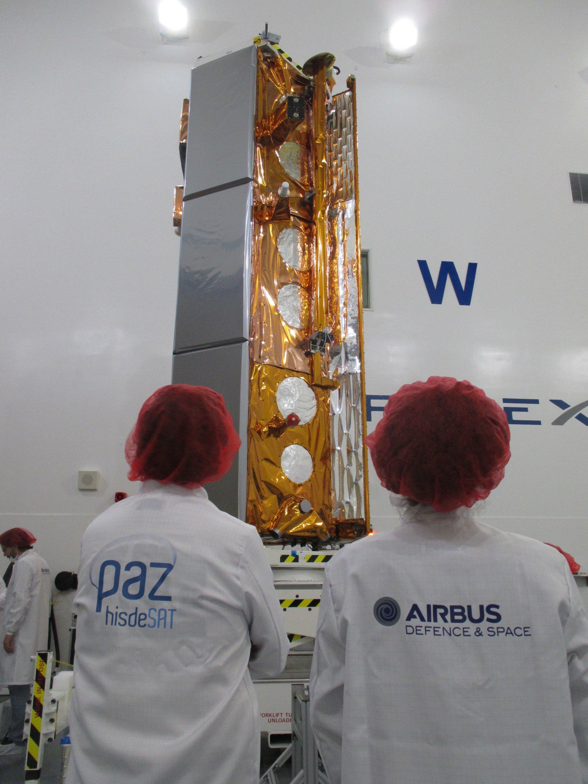 PAZ Satellite Copyright Airbus2018