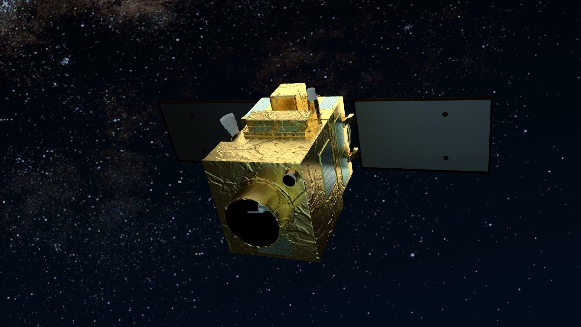 PerùSAT-1 satellite in orbit