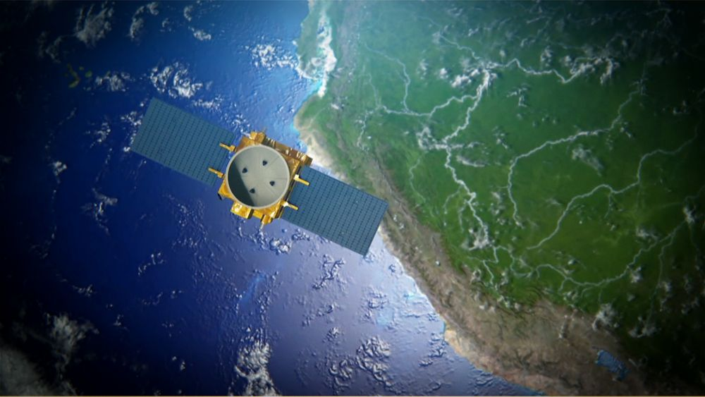 PeruSAT 1 Close To Peru