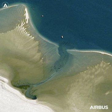 Banc d'Arguin nature reserve, Arcachon Bay  (France) - Pléiades Neo 4