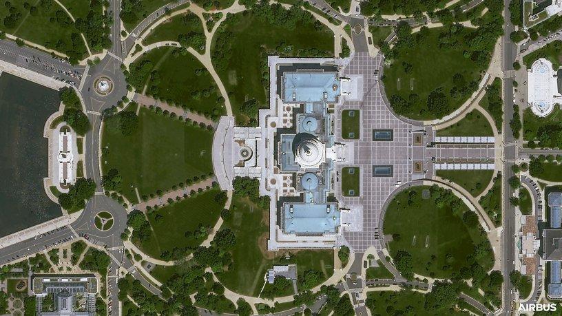 Pléiades Neo First Image - Washington DC