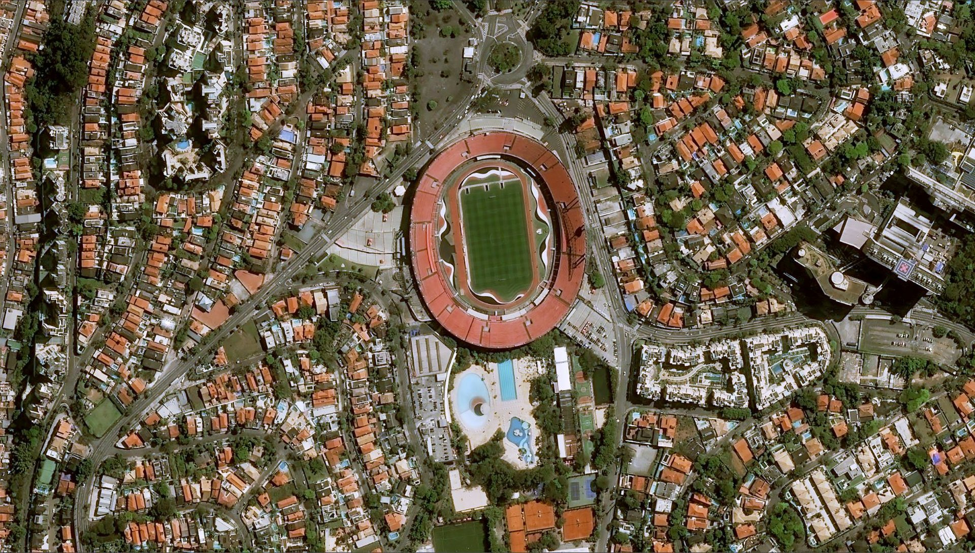 Morumbi Stadium, Sao Paulo (capacity: 67,400 seats) is one of the stadiums that will host the 46th edition of the Copa América - CONMEBOL in Brazil from 14 June to 7 July 2019.