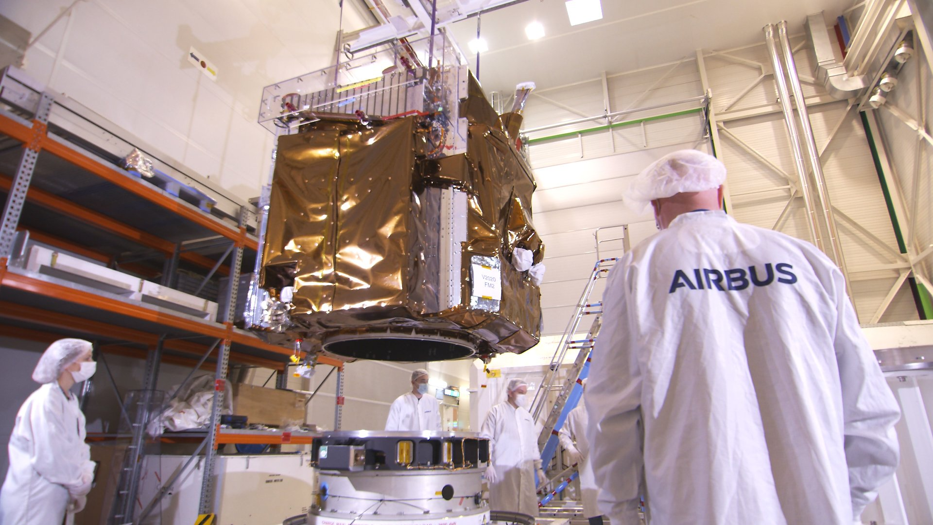 The first of Airbus' Pléiades Neo high-resolution imaging satellites will be orbited by a Vega launcher in the first half of 2021