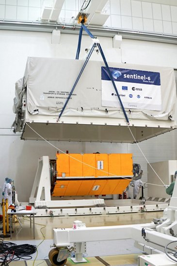 Sentinel-6 Michael Freilich shipment