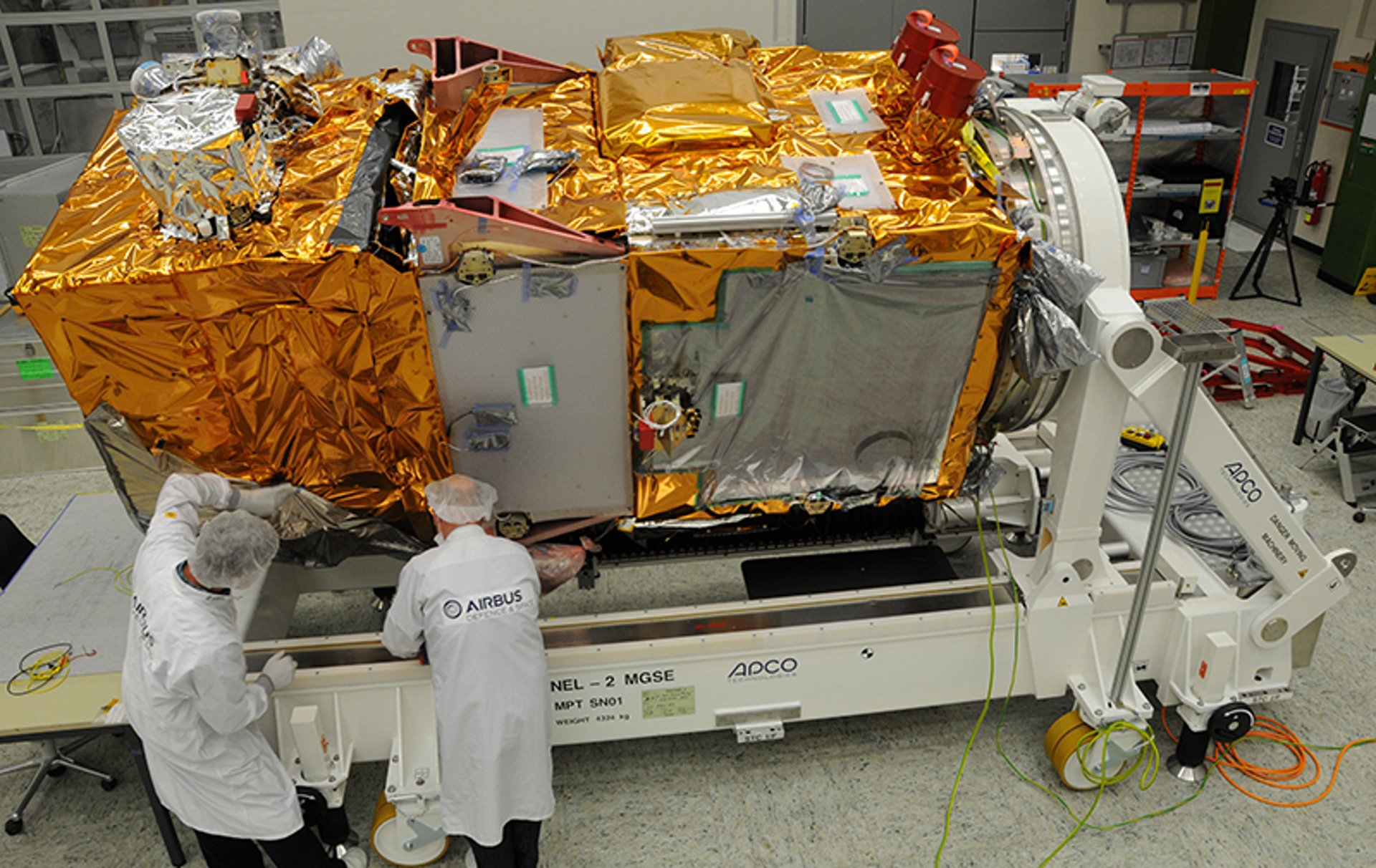 Sentinel-2A ready for testing