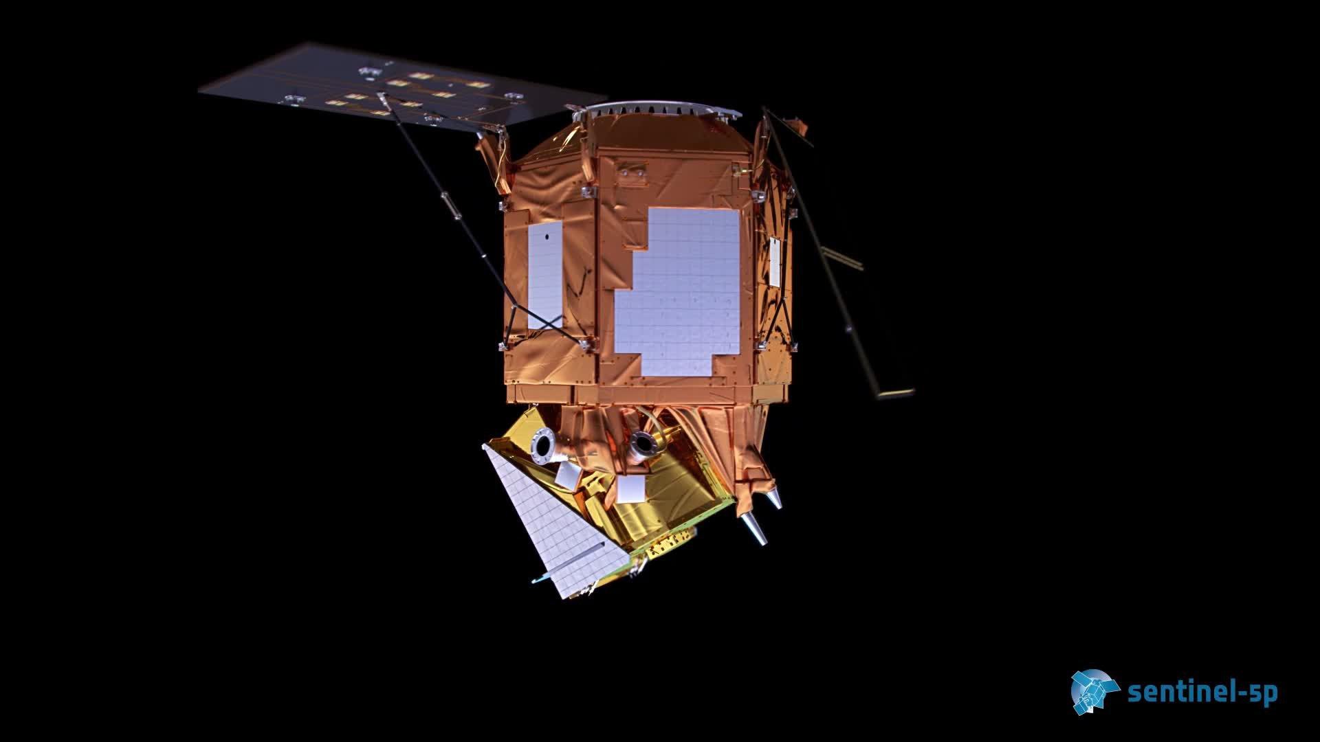 Sentinel-5p - Solar Array Deployment