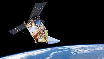 Sentinel 5 Precursor in Orbit - Artist view