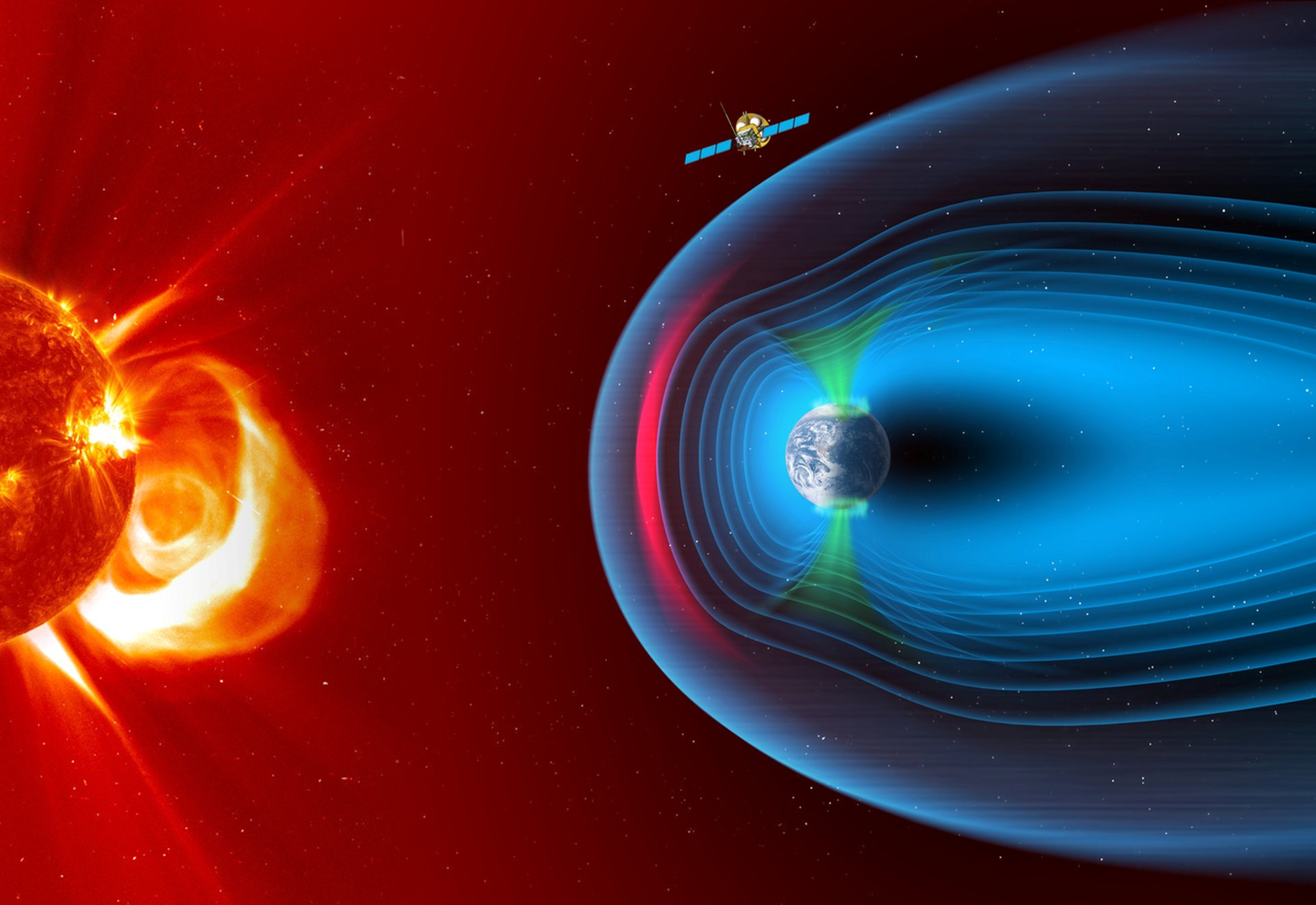SMILE will study and understand space weather. especially the physics behind continuous interaction between particles in the solar wind and Earth's magnetosphere.