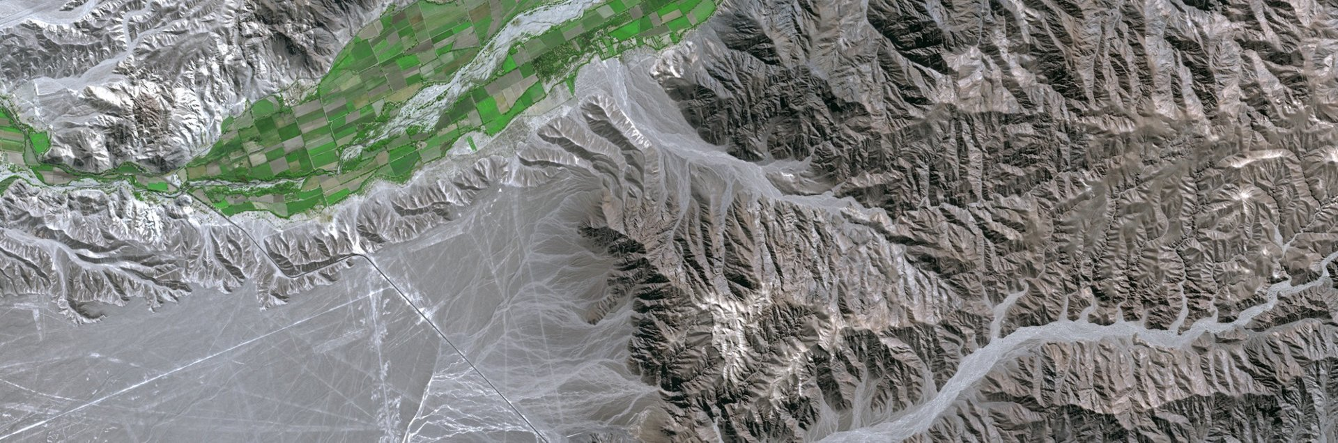 Spot 5 Satellite Imagery - Nazca Lines, Peru