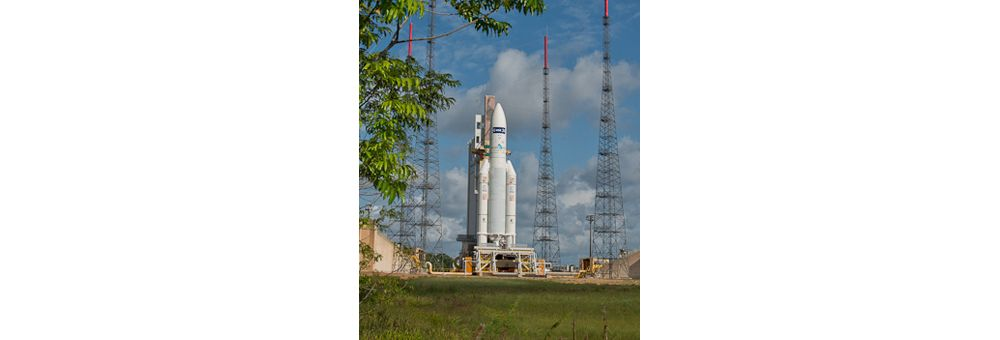 ATV launched by Ariane 5-Flight 219
