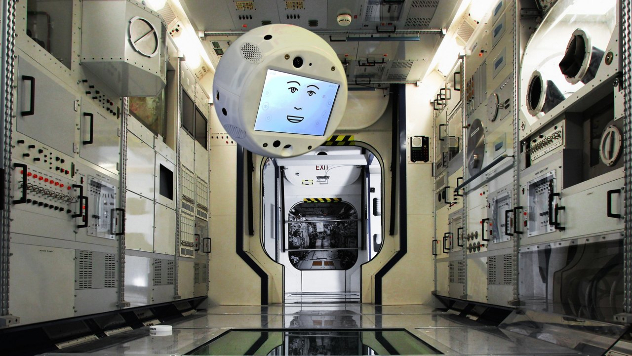 CIMON (Crew Interactive Mobile CompanioN) is a mobile and autonomous assistance system designed to aid astronauts with their everyday tasks on the ISS. This will be the first form of Artificial Intelligence (AI) on an ISS mission. CIMON is an experiment overseen by Space Administration at the German Aerospace Center (DLR) in cooperation with Airbus (Friedrichshafen/Bremen, Germany) as the prime contractor. CIMON is a free flyer fueled with Artificial Intelligence, enhancing human expertise. AI-based technology is about constantly understanding, reasoning and learning, so CIMON is designed to assist and to create a feeling of talking to a crew mate.
