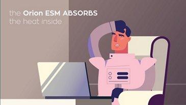 Orion ESM - heat management