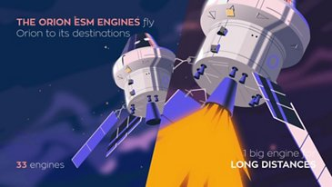 Orion ESM - engines