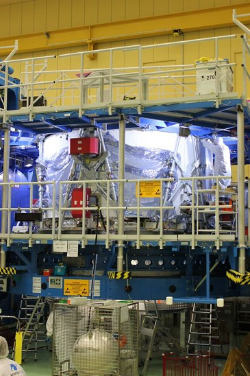 Assembly and integration of the no. 1 flight module for NASA's next-generation Orion spacecraft