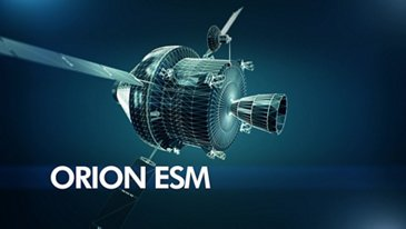 Orion ESM - Service module for NASA's spacecraft Orion - Clip 2