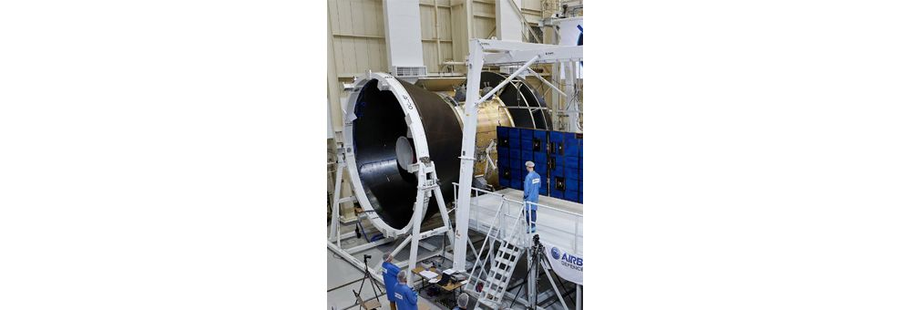 European Service Module if Nasa Orion spacecraft in production