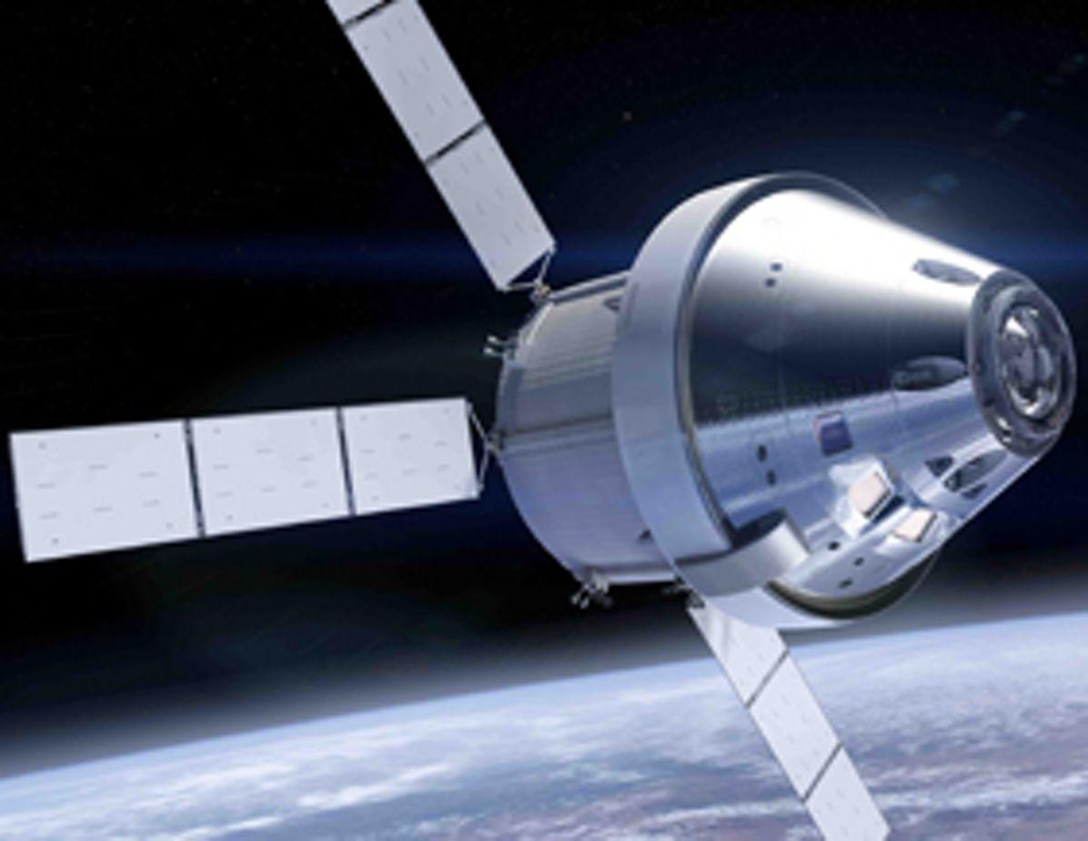 Orion spacecraft  of NASA