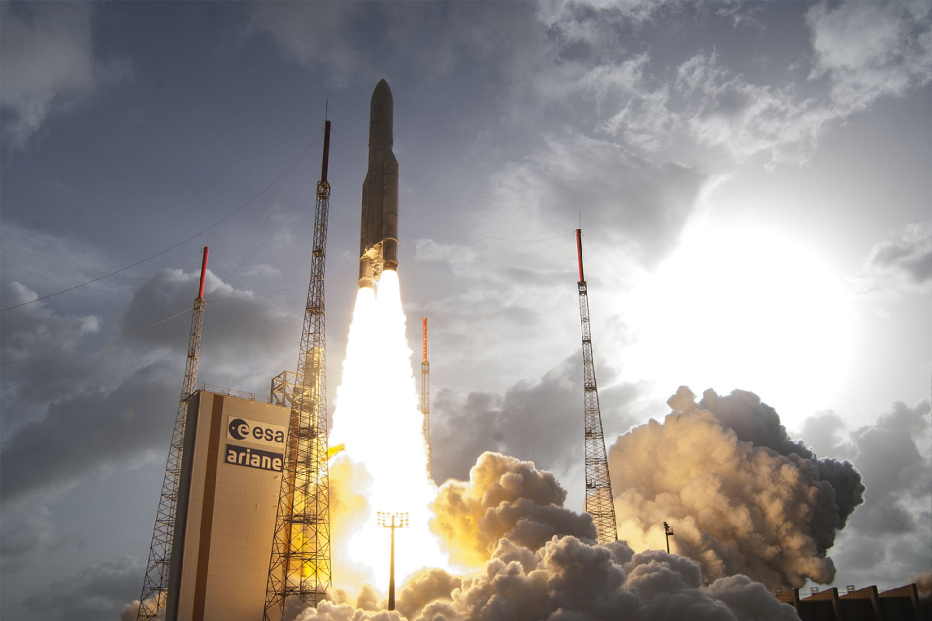 Ariane 5 launch from Kourou