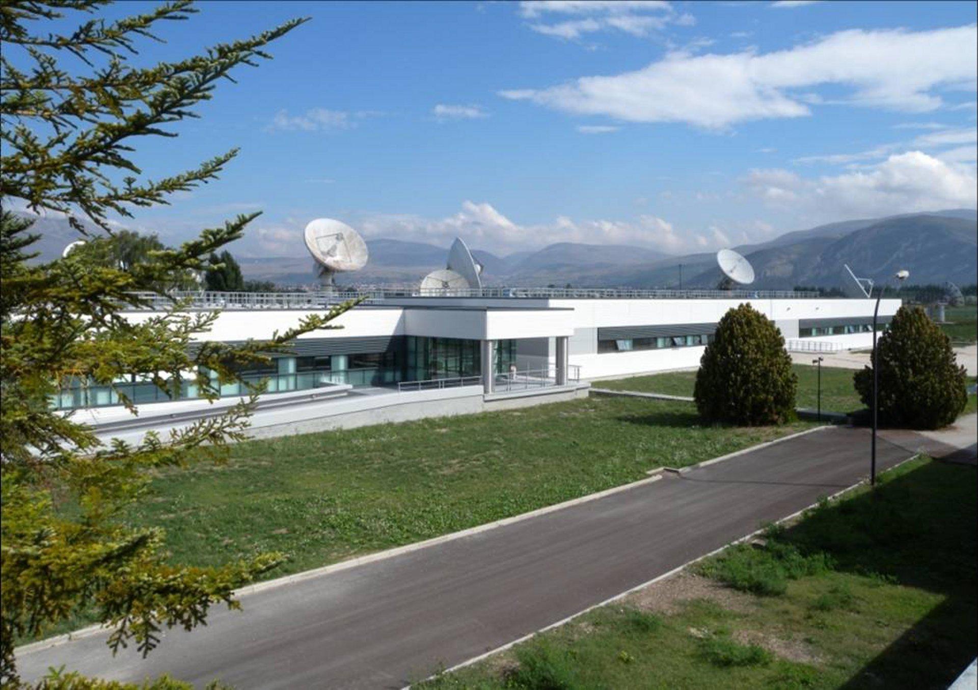 Galileo Ground Control Center in Fucino, Italy