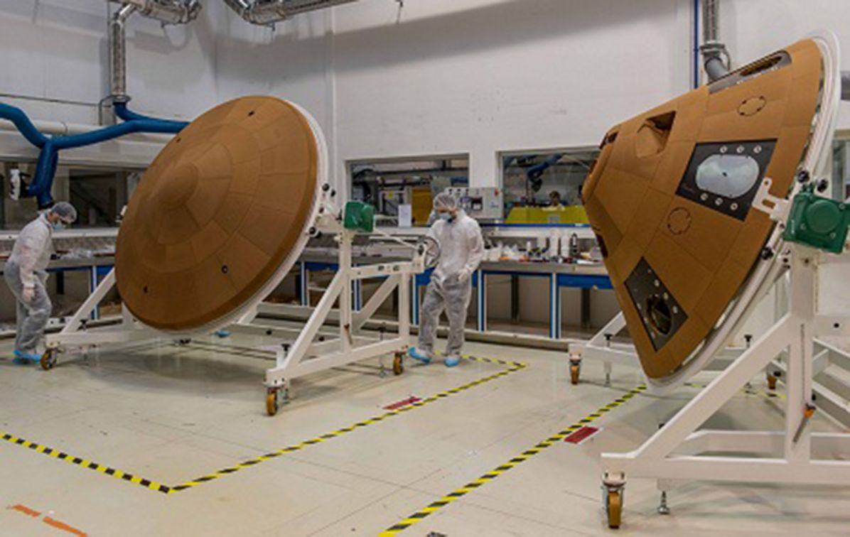 Thermal protection to Mars probe
