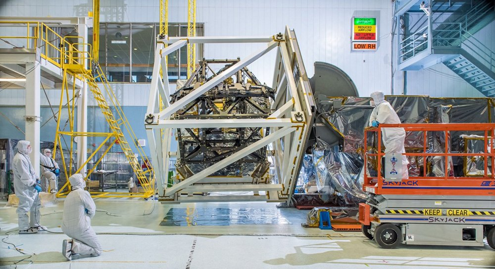OTIS (Optical Telescope Element and Integrated Science), the payload module hosting the telescope and the instruments for the giant James Webb Space Telescope (JWST)