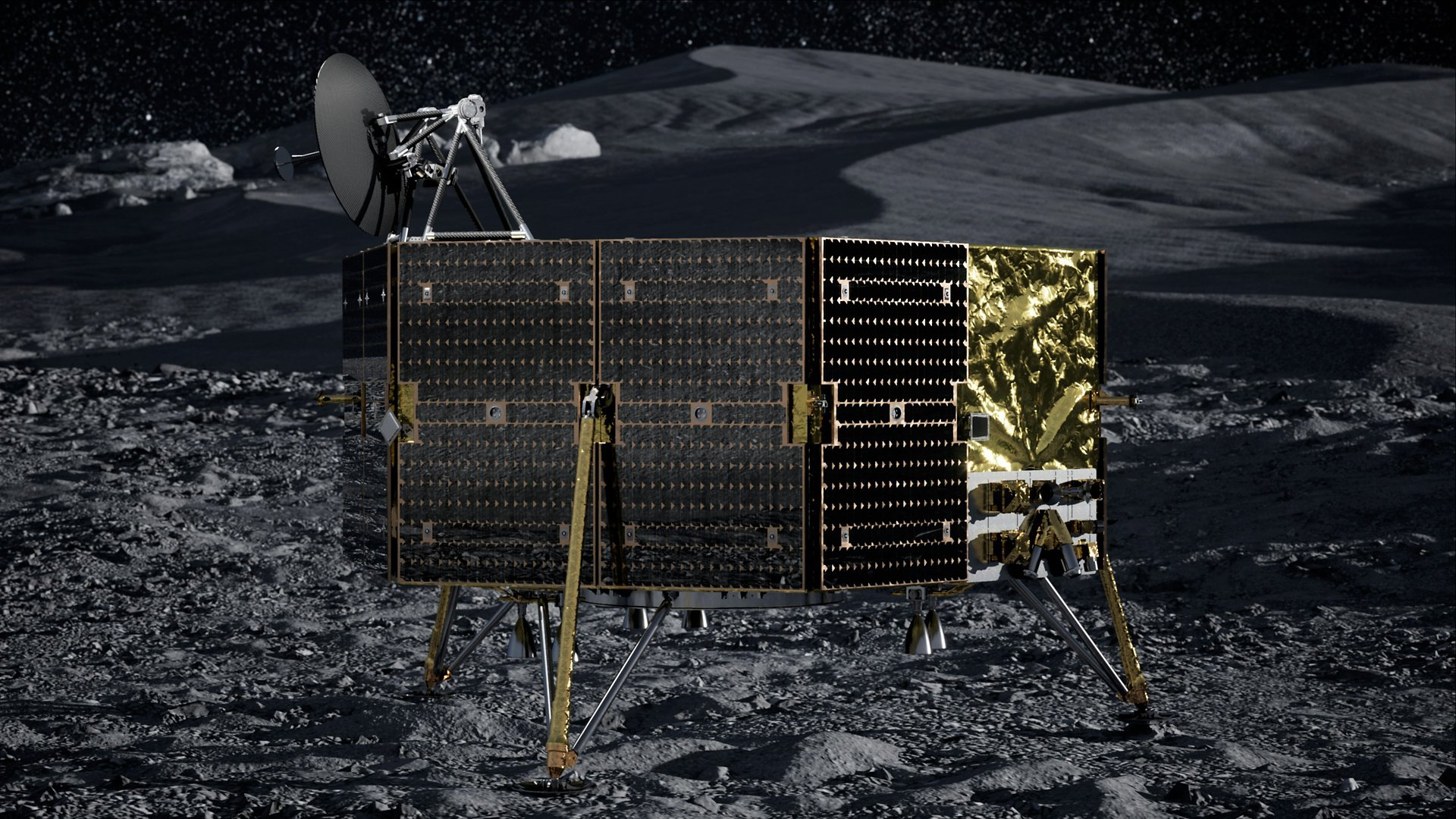 Today, Airbus announced that its Sparkwing solar panels were selected by USA-based Masten Space Systems for their XL-1 lunar lander. In 2023, the XL-1 spacecraft will land at the lunar South Pole as part of NASA's Commercial Lunar Payload Services program. XL-1 will be equipped with six body-mounted Sparkwing solar panels, to be delivered next year, to charge the vehicle's power system during transition to the Moon as well as during operations on the Moon's surface.