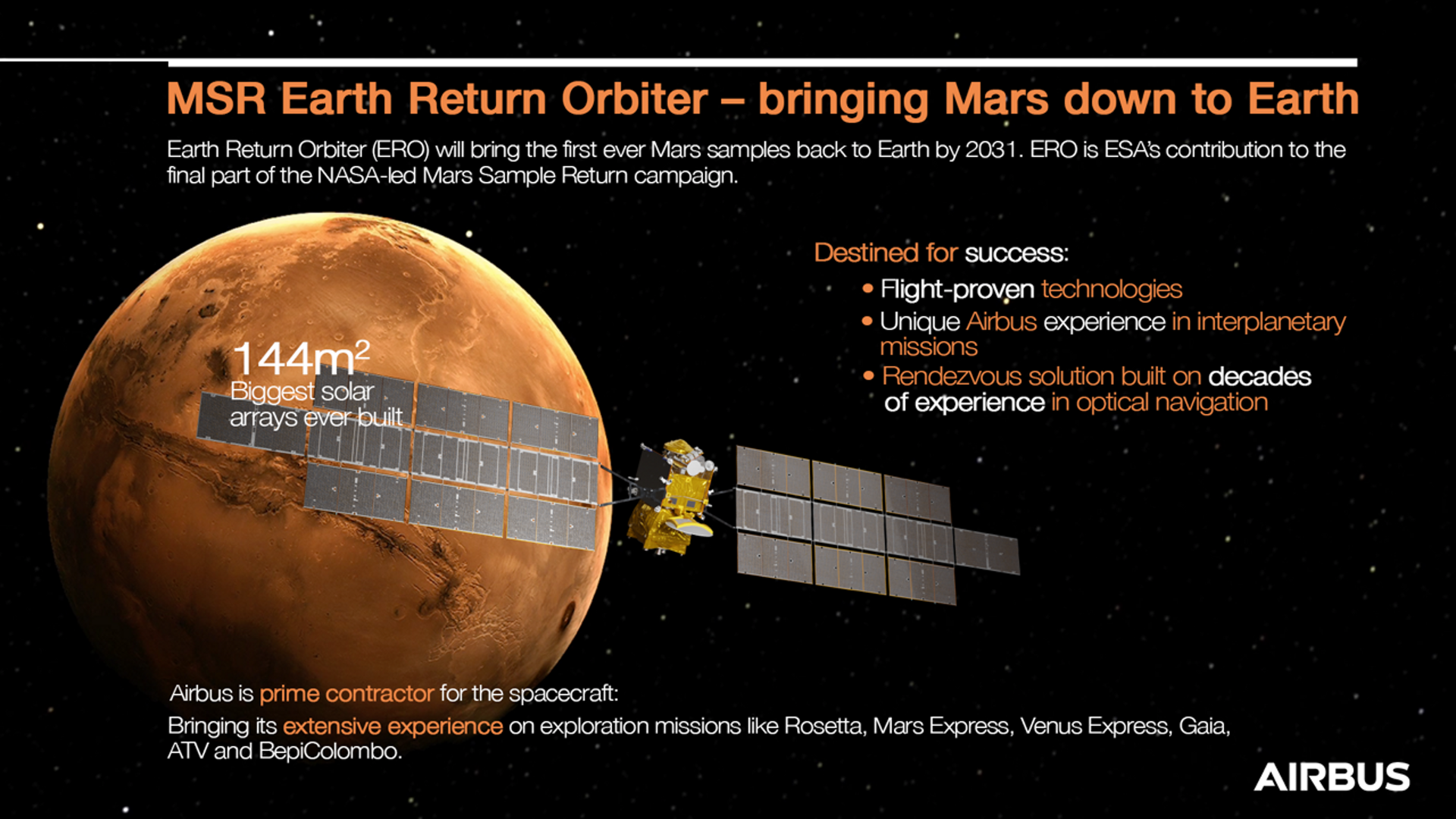 The first spacecraft to bring samples from Mars to Earth