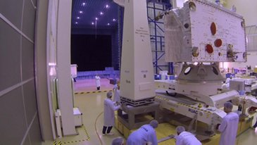 BepiColombo - MPO and MTM probes Footage