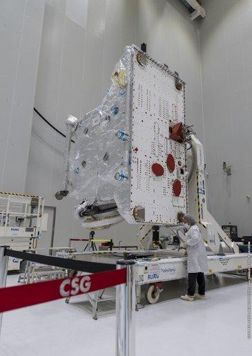 Bepi Colombo. Deployment Solar Panels - Copyright ArianeGroup