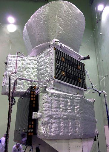 BepiColombo - Flight configuration in clean room