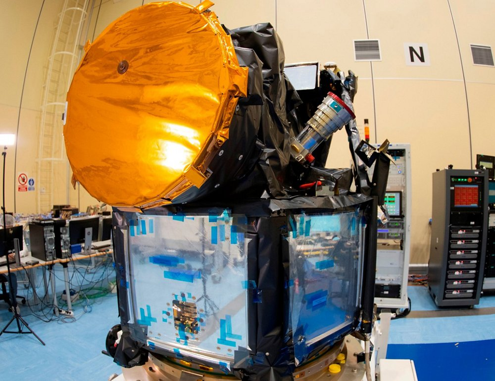 CHEOPS, the Characterising ExOplanet Satellite, was built by an Airbus-led consortium for a mission to understand the make-up of exoplanets that orbit nearby stars.