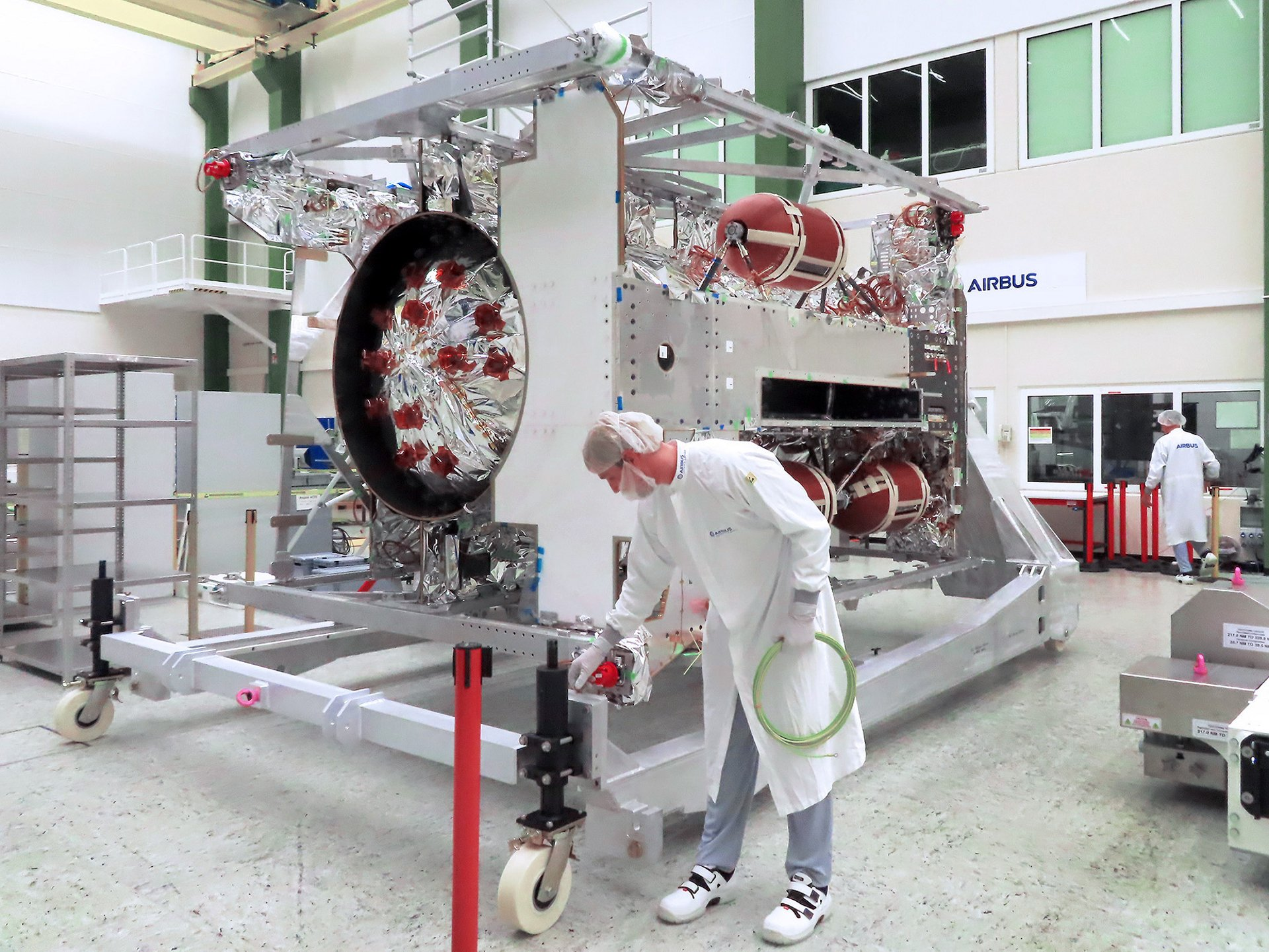 JUICE - JUpiter ICy moons Explorer - is the first large-class mission in ESA's Cosmic Vision 2015-2025 programme. Planned for launch in 2022 and arrival at Jupiter in 2029, it will spend at least three years making detailed observations of the giant gaseous planet Jupiter and three of its largest moons, Ganymede, Callisto and Europa. Airbus is the prime contractor to ESA.