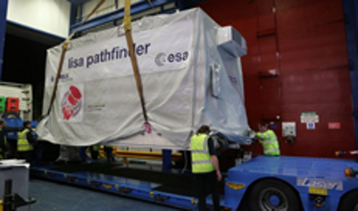 LISA Pathfinder shipping to launch site