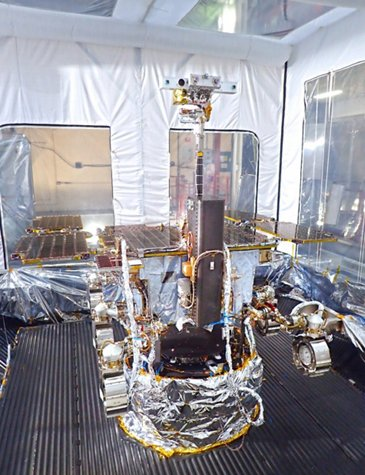 ExoMars in TVAC