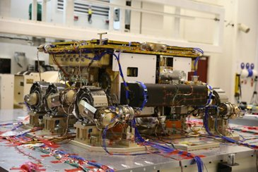 ExoMars Rover on the cleanroom